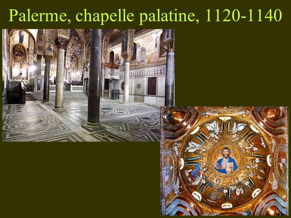 Palerme, chapelle palatine, 1120-1140