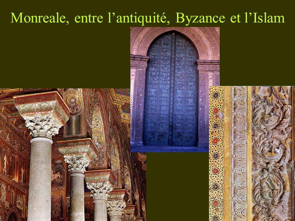 Monreale, entre lantiquité, Byzance et lIslam