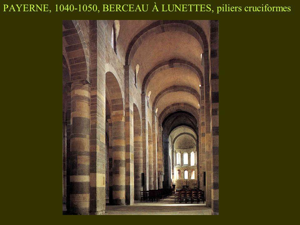 TOURNUS, nef de SAINT-PHILIBERT 1080, cas unique