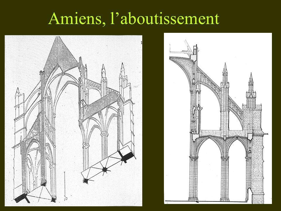 Amiens, laboutissement