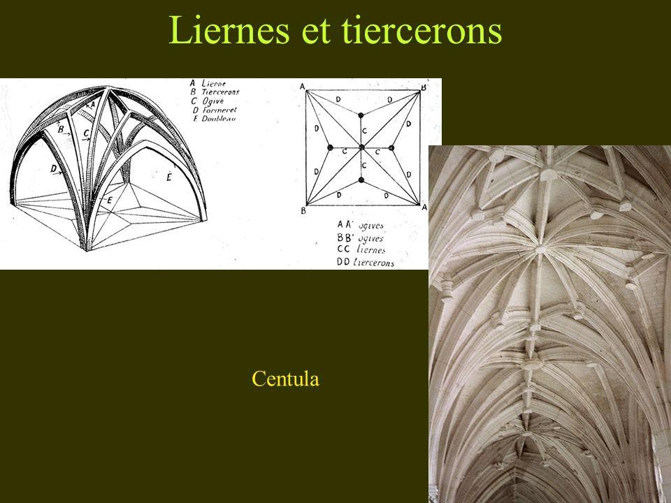 Liernes et tiercerons Centula