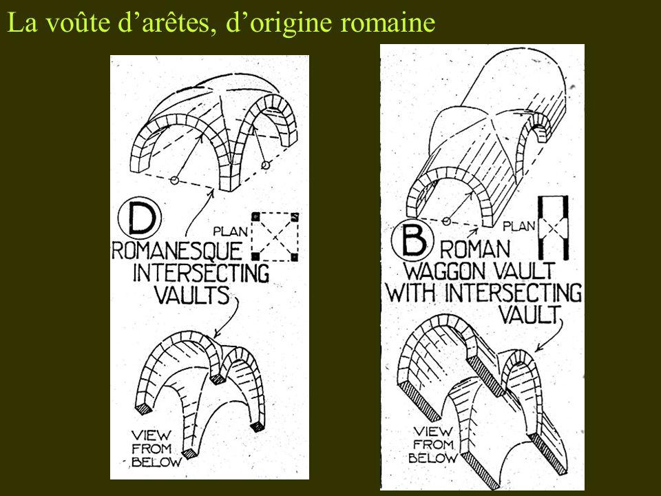 La voûte darêtes, dorigine romaine