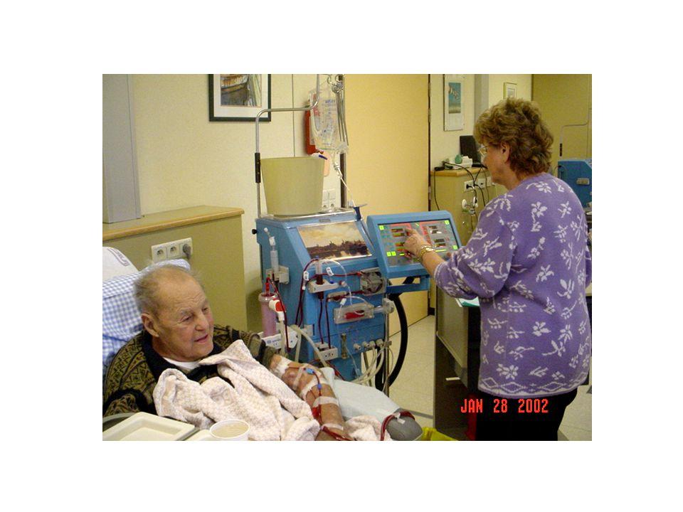 Hémodialyse Inconvénients : hypotensions sévères hypokaliémie accident technique réaction dhypersensibilité transmission dinfection nosocomiale infection du site daccès vasculaire