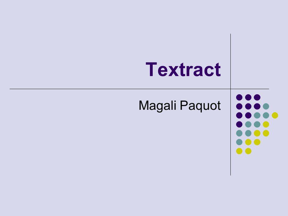 Textract Magali Paquot