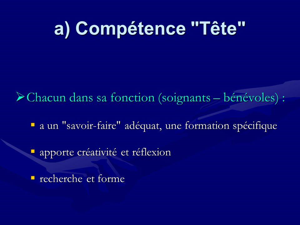 a) Compétence