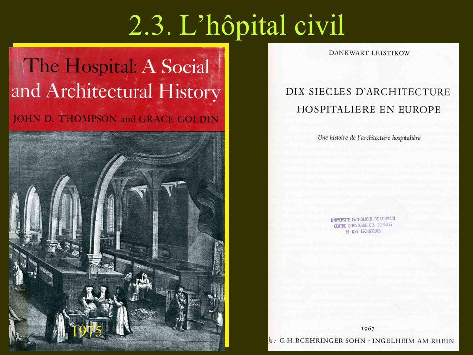 2.3. Lhôpital civil 1975
