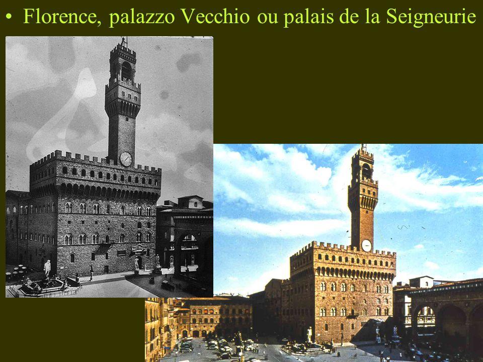 Florence, palazzo Vecchio ou palais de la Seigneurie