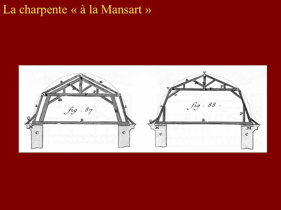 La charpente « à la Mansart »