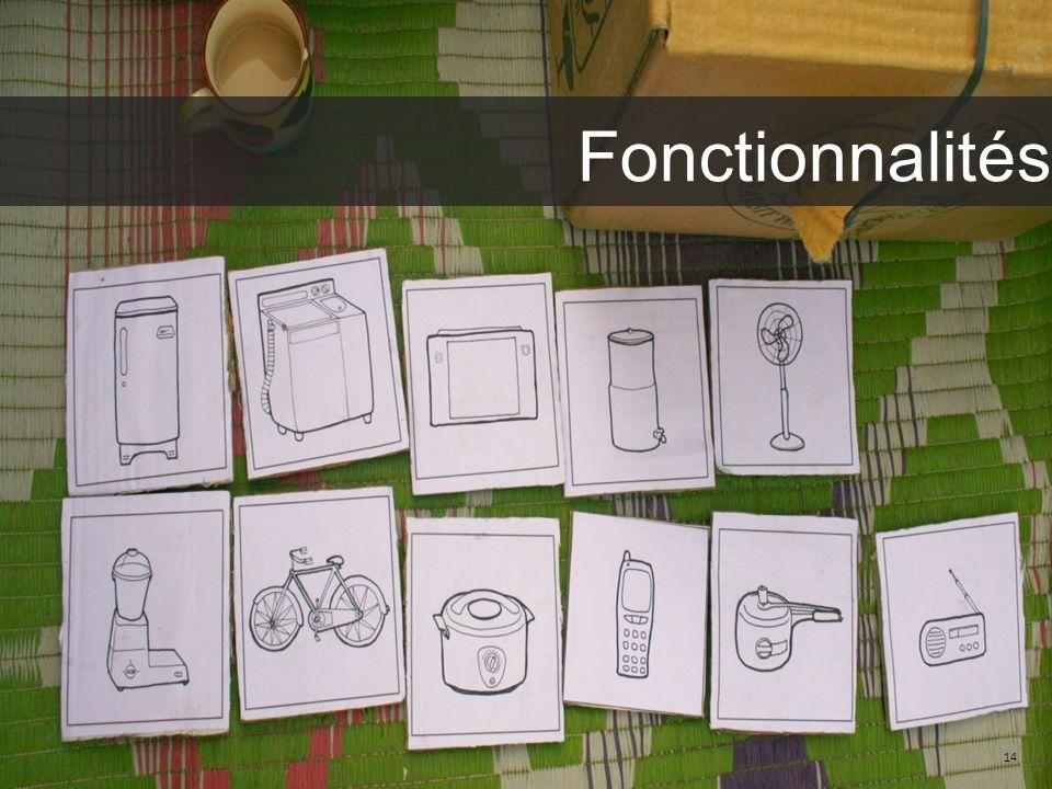 14 Fonctionnalités