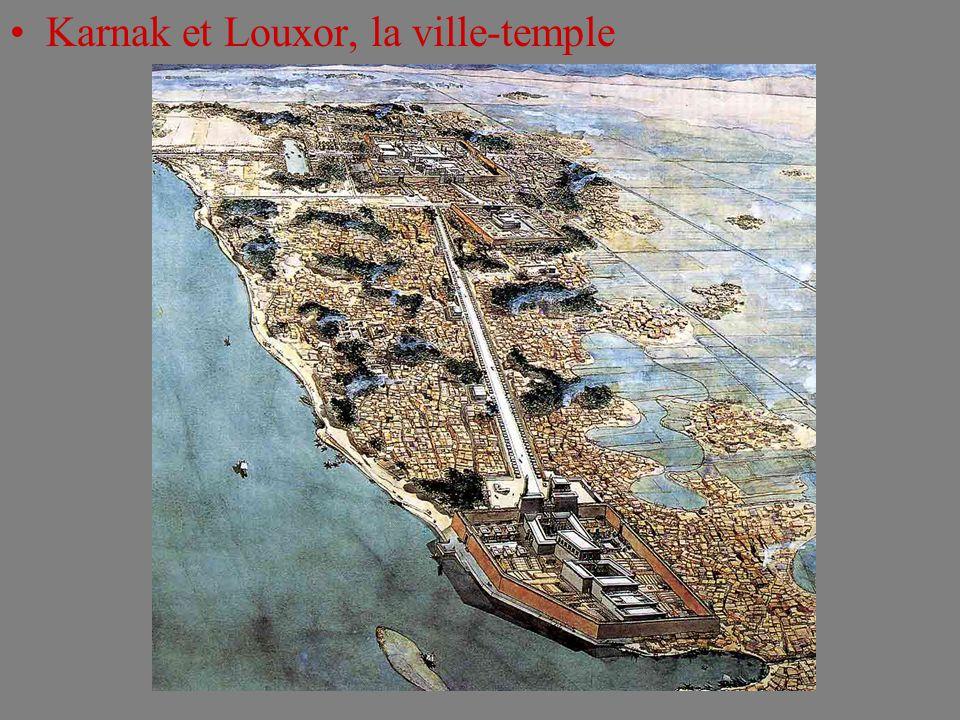 Karnak et Louxor, la ville-temple