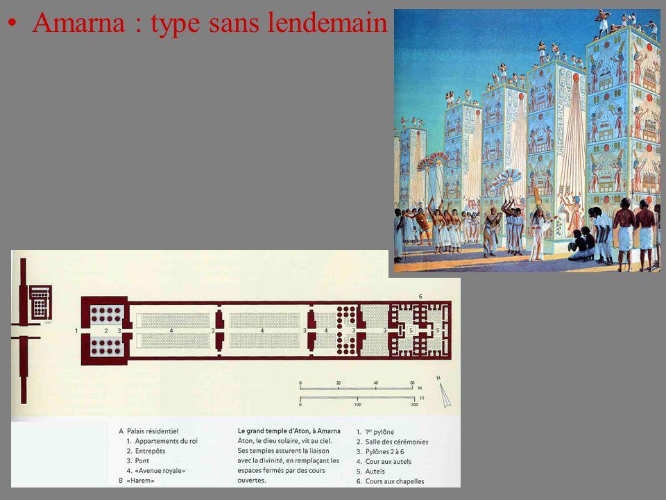 Amarna : type sans lendemain