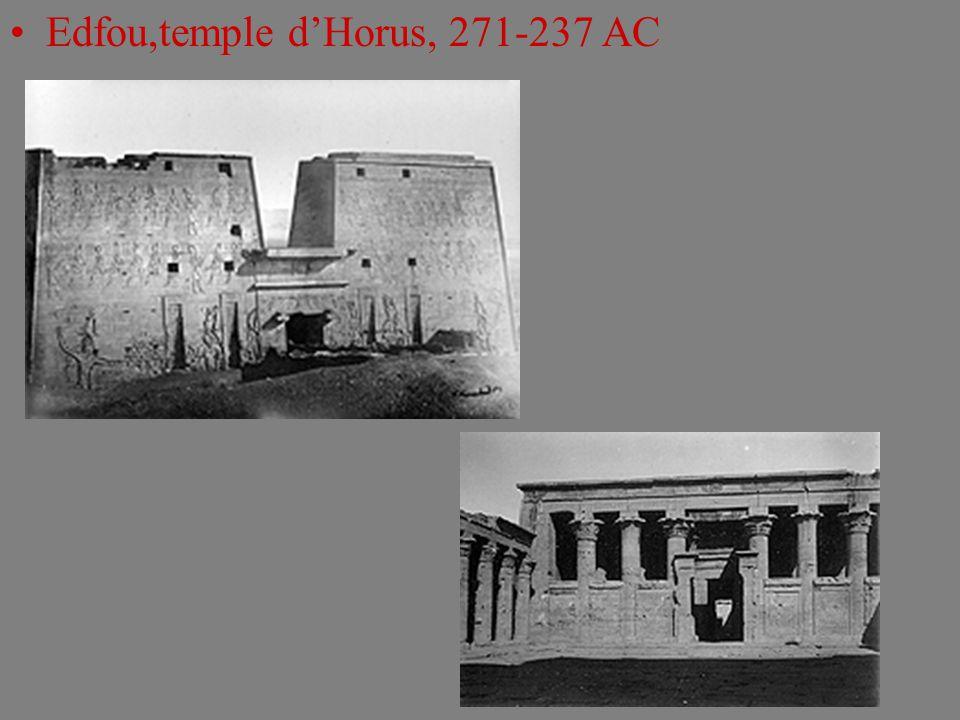 Edfou,temple dHorus, 271-237 AC