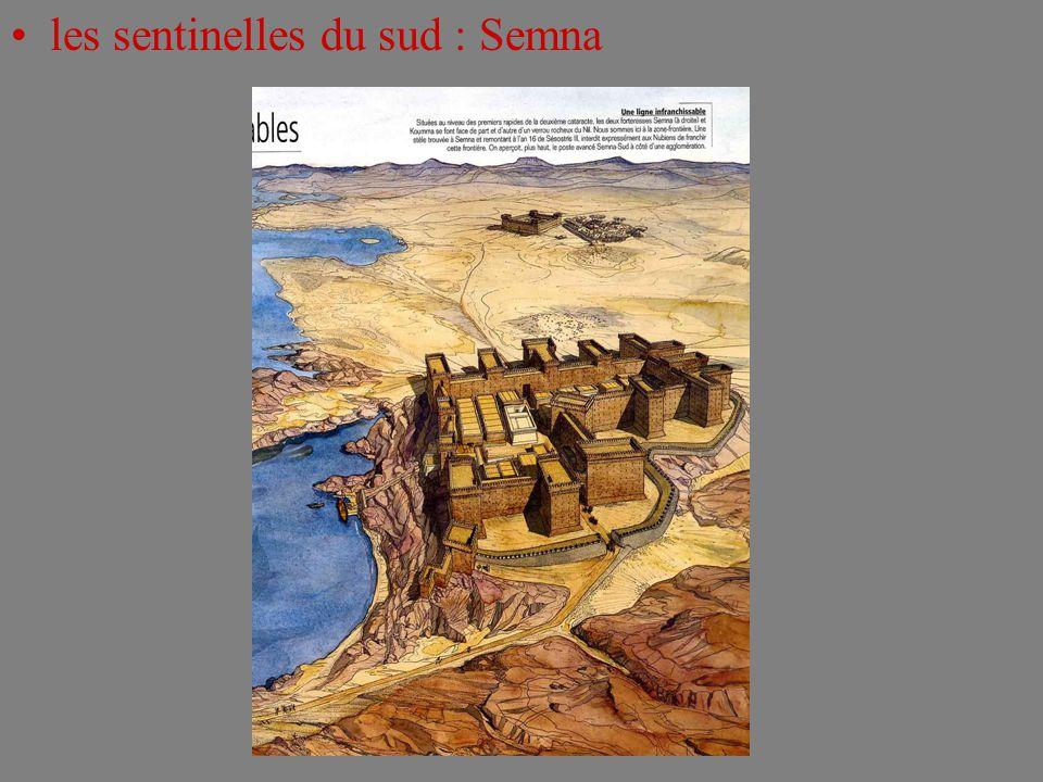 les sentinelles du sud : Semna