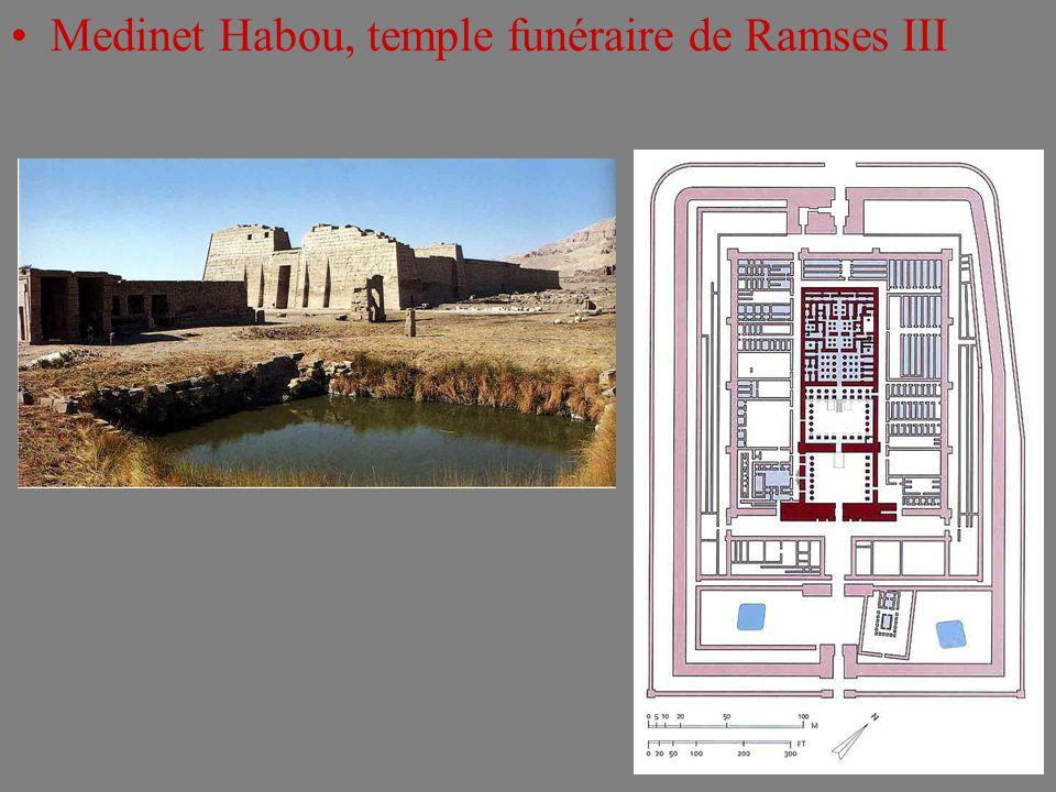Medinet Habou, temple funéraire de Ramses III