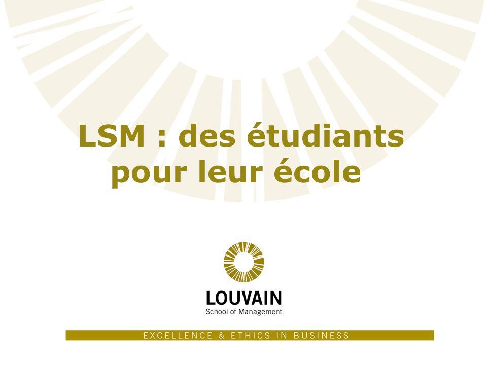 11 LSM : des étudiants pour leur école