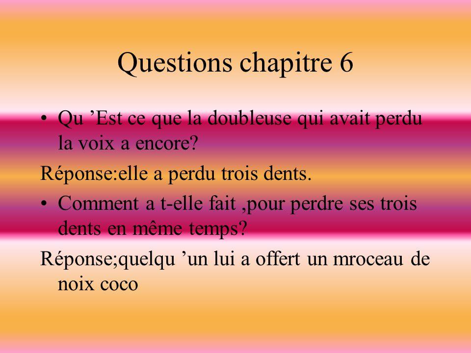 Questions chapitre 5 Soazig et Simon doivent-ils s embrasser pour le bien du doublage.