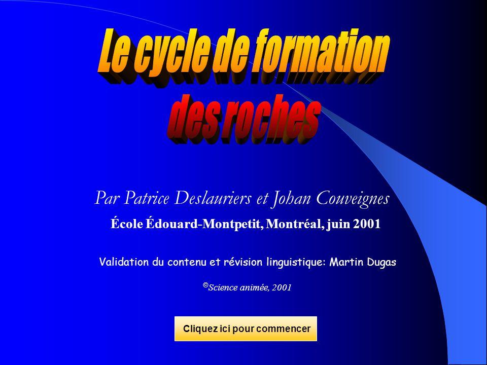 Par Patrice Deslauriers et Johan Couveignes École Édouard-Montpetit, Montréal, juin 2001 Validation du contenu et révision linguistique: Martin Dugas