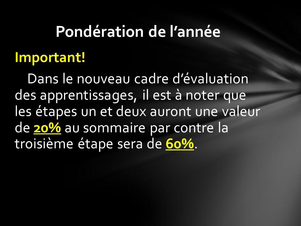 Vous devrez performer, le 19 juin de 9h30 à 12h30, dans une épreuve unique qui aura une valeur de 50% de la compétence 2 au sommaire de la troisième étape.