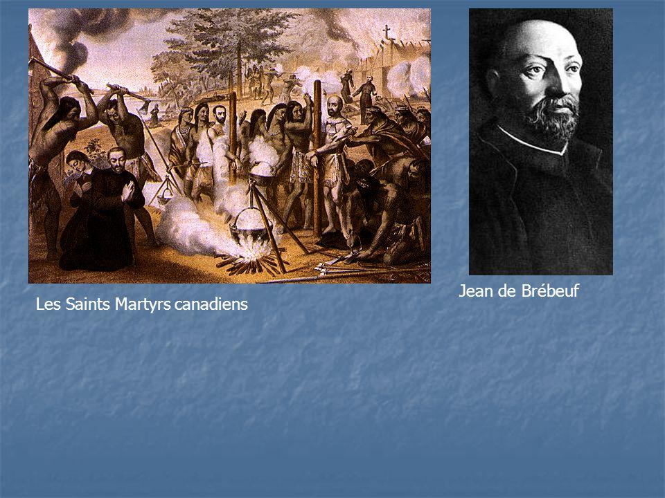 Les Saints Martyrs canadiens Jean de Brébeuf