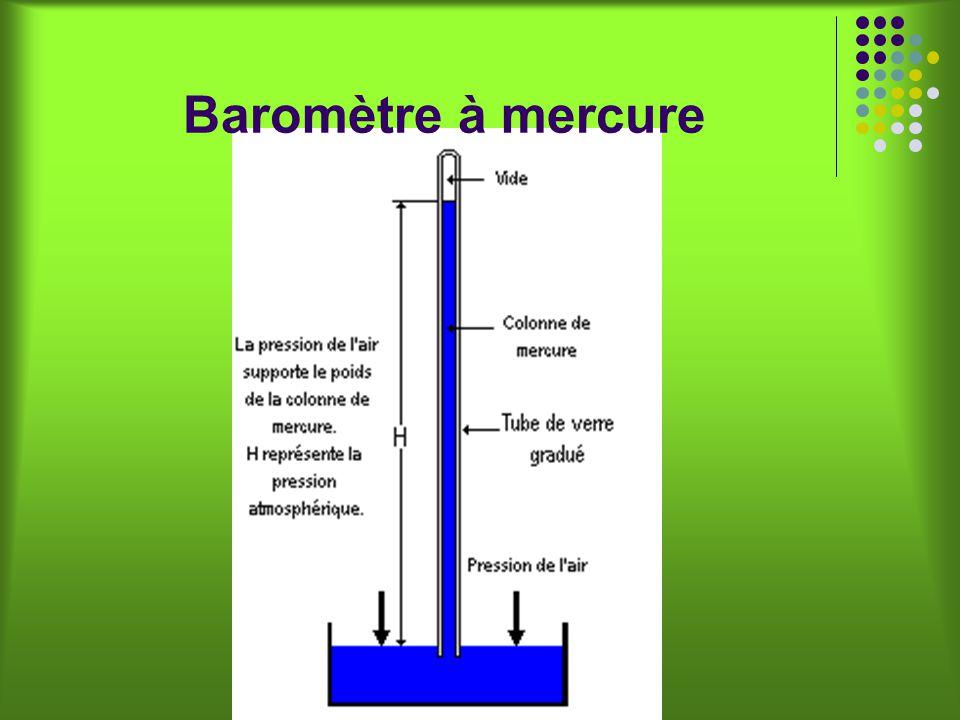 Baromètre à mercure