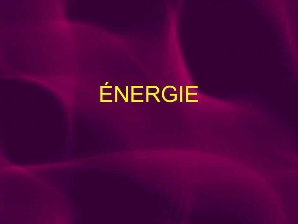Quest-ce que lénergie.