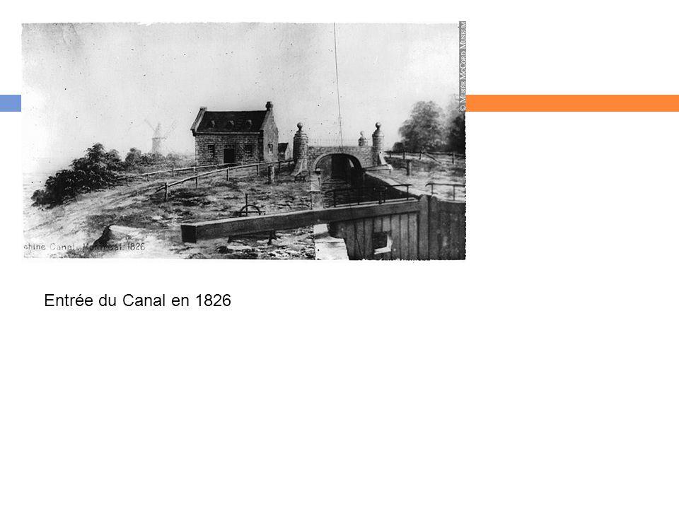 Entrée du Canal en 1826