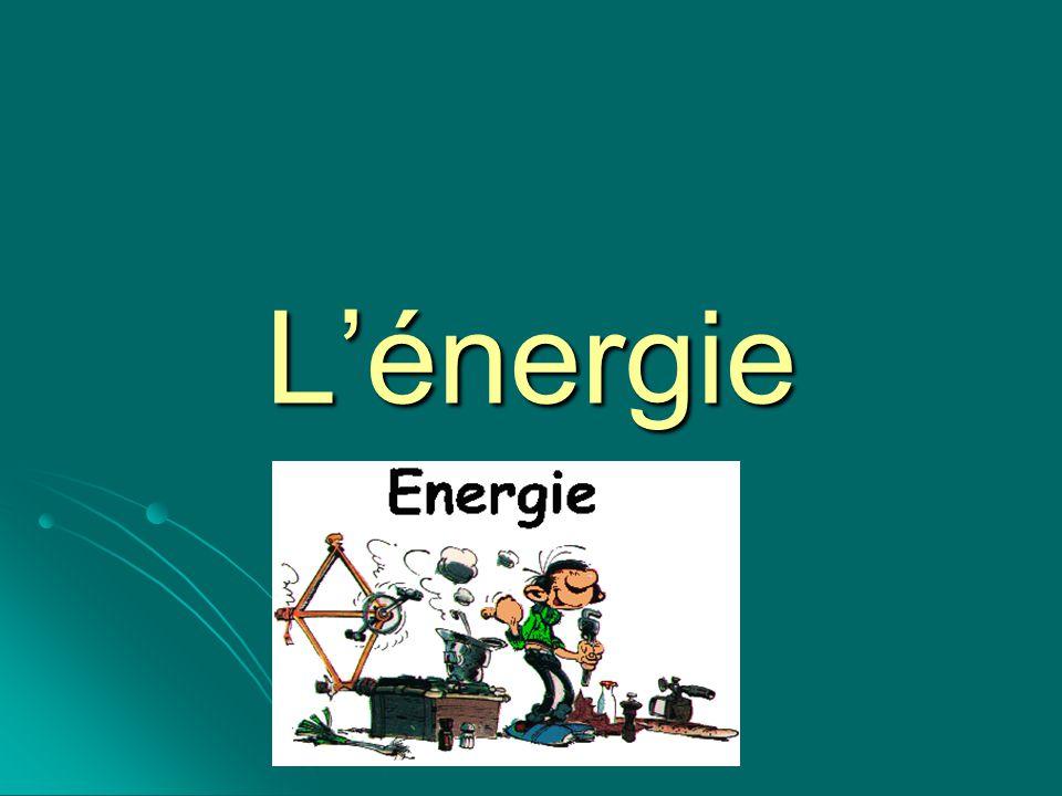 Quest-ce que lénergie Cest la capacité d un système à produire un travail (des actions) ou de provoquer un changement.