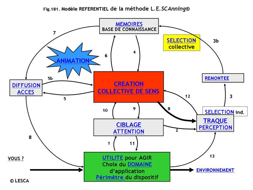 L.E.SCAnning ©LESCA 41015 pour en savoir plus : http://www.veille-strategique.org Lobjectif fondamental est la transformation des signaux faibles (stimuli inducteurs) en forces motrices pour les managers.