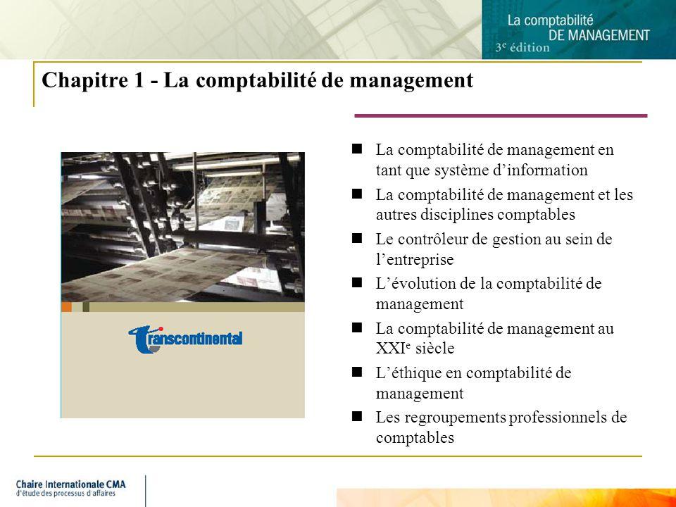 3 La comptabilité de management en tant que système dinformation La gestion est lactivité qui anime toutes les autres La planification consiste à penser avant dagir Lactivité de contrôle guide lorganisation La comptabilité de management fait partie du système dinformation de gestion La comptabilité de management est présente partout où il y a de la gestion