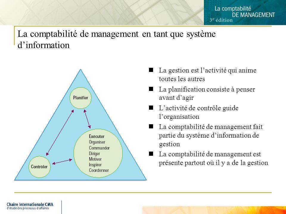 4 Les rôles fondamentaux de la comptabilité au sein de lentrperise