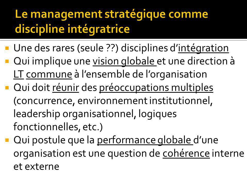 Des apprentissages variés selon la situation vécue par leur entreprise et leur équipe Des apprentissages sur le management (stratégique) Avoir une vision globale claire; la suivre et savoir sajuster ….