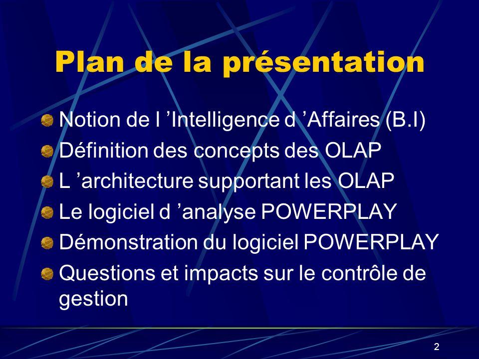 1 Présentation sur PowerPlay Henri Besnier Jean-Pierre Brosseau Yao Akogo Pierre Fisa