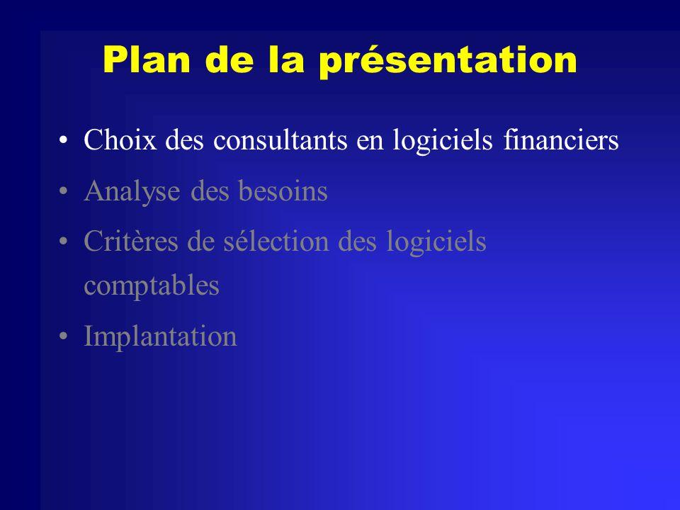 Planifier limplantation Convertir les données Donner de la formation sur le nouveau système Coordonner les systèmes de support interne et externe