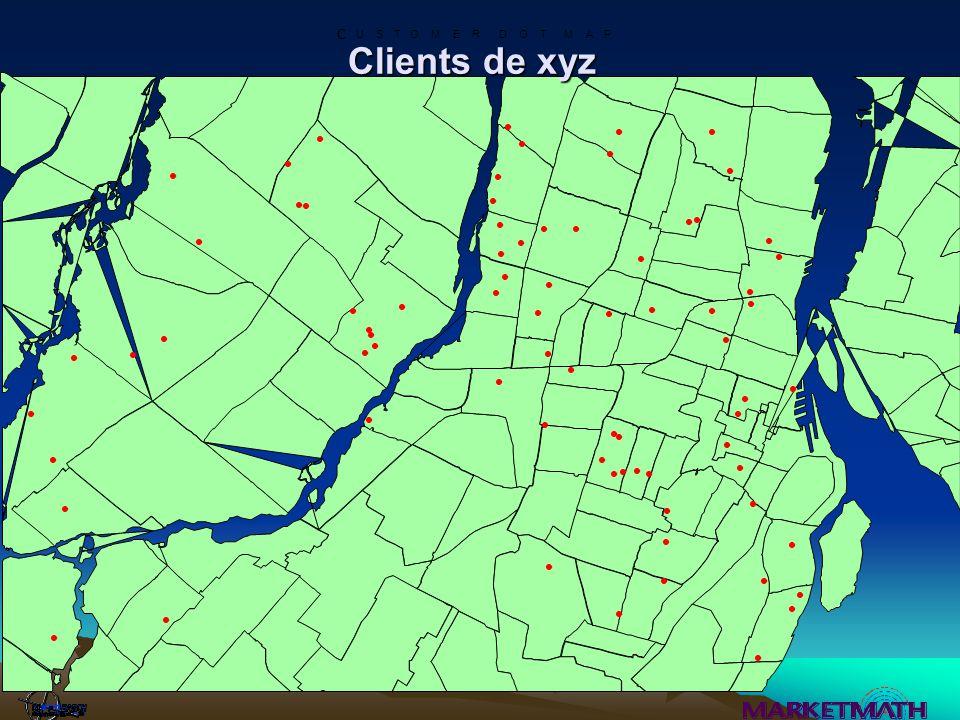 MapInfo – Exemples de données disponibles Données cartographiques Données de recensement Projections et Estimés Population de jour PSYTE- segments de marchés Potentiel de dépenses des consommateurs Base de données de localisation
