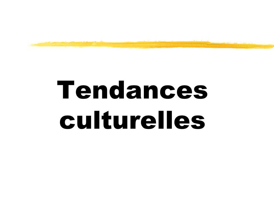 Tendances culturelles