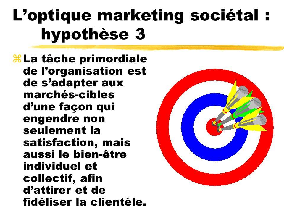 Conclusion zComme gestionnaire de marketing, il faut sinterroger quant à la nature et le rôle du marketing dans une société.