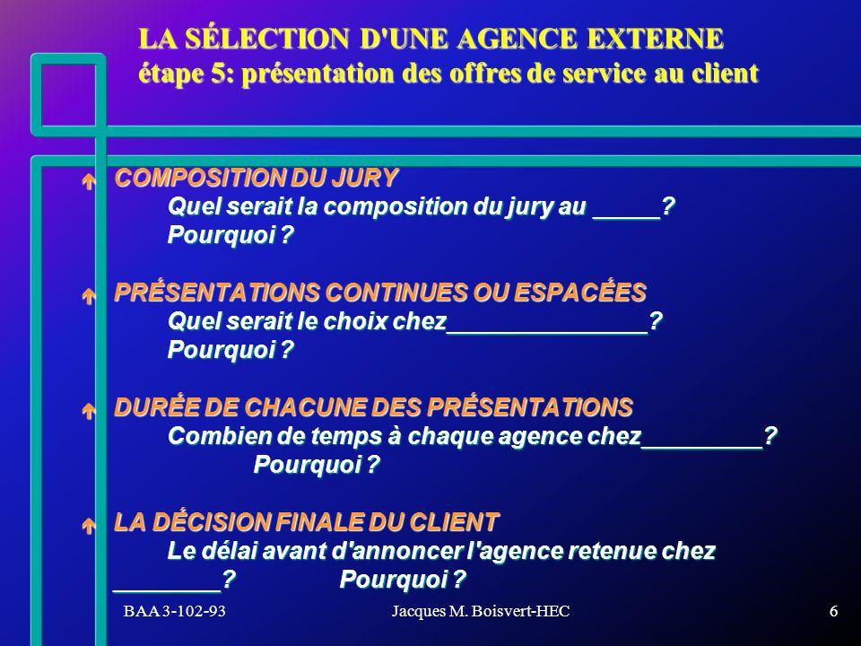 BAA 3-102-93Jacques M. Boisvert-HEC7 Les Infopublicités