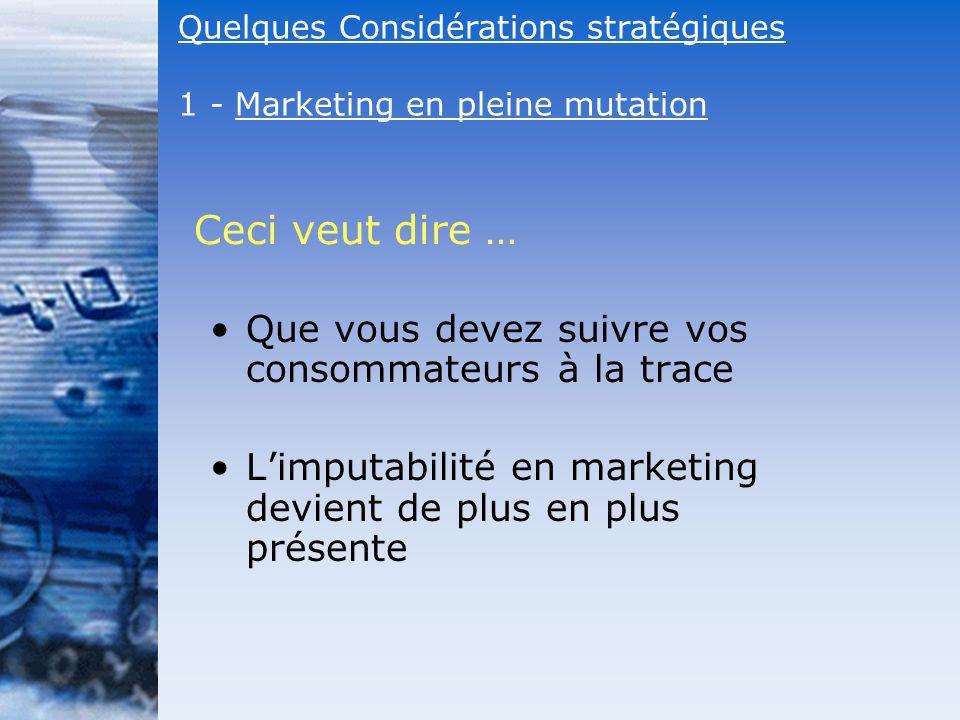 Que vous devez suivre vos consommateurs à la trace Limputabilité en marketing devient de plus en plus présente Ceci veut dire … Quelques Considération