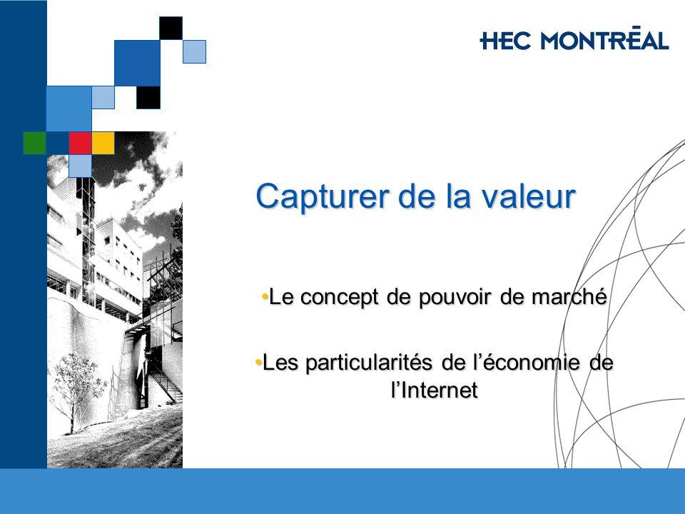 HEC MONTRÉAL – M.Sc.Commerce électronique Économie Numérique Jacques Robert, HEC Montréal 4.