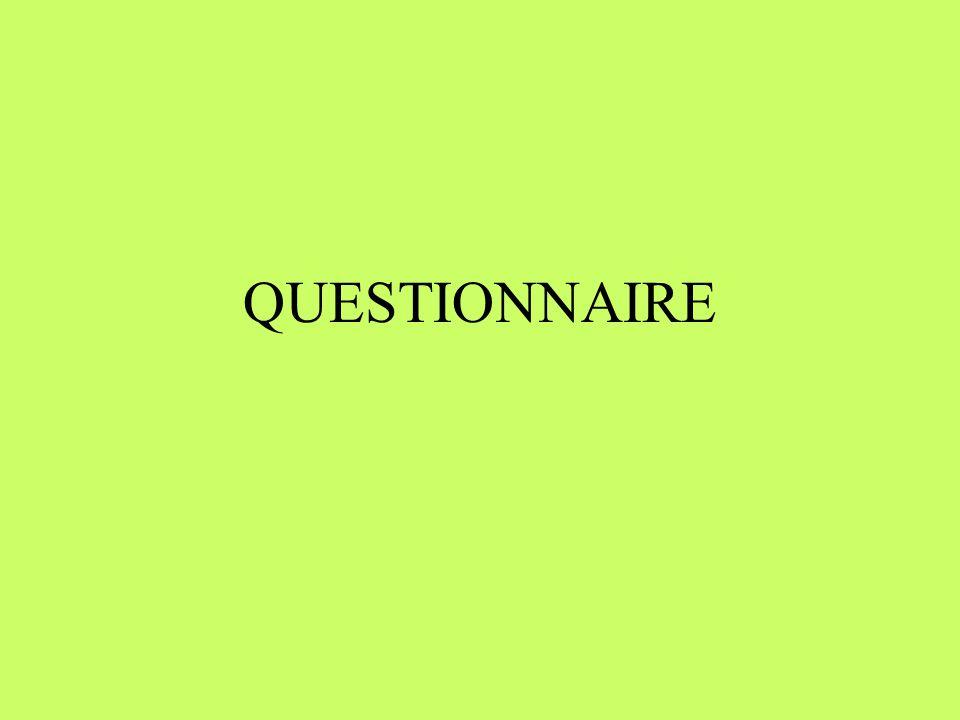 ÉTAPES DÉLABORATION Définir les objectifs de l étude Lister les thèmes d informations requis Définir le nombre de questions pour couvrir chaque thème Choisir la méthode de collecte: –poste (1 hre), téléphone (20 min), face-à-face (1 hre) Élaborer les questions selon les analyses à effectuer: nominales, ordinales, intervalles ou de rapport dichotomiques, choix multiples, ouvertes Pré-tester le questionnaire: 20-30 / langue
