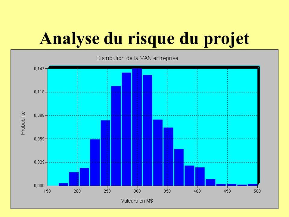 Analyse du risque du projet