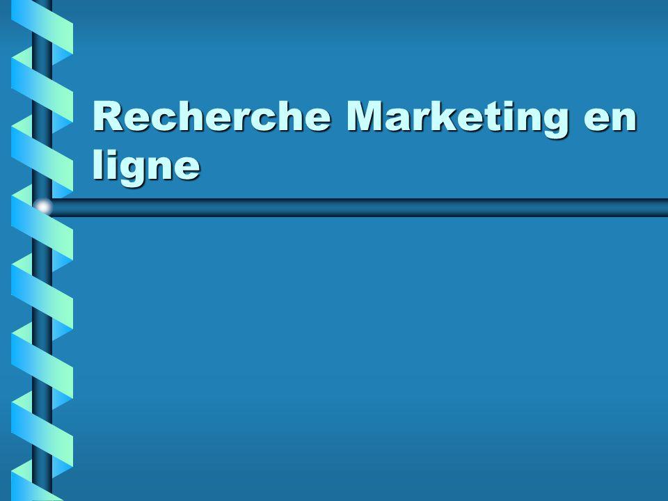Recherche Marketing en ligne