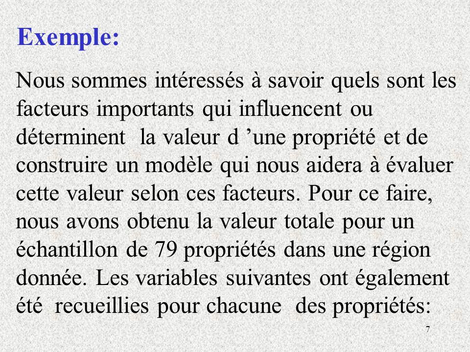 28 Exemple: MODÈLE 1.