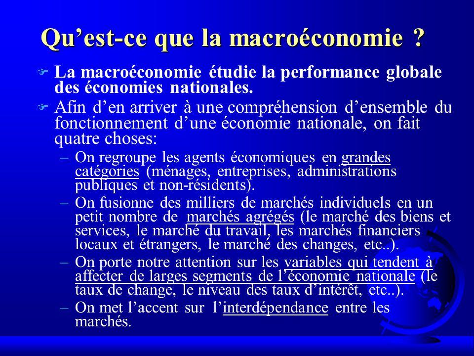 Quest-ce que la macroéconomie .