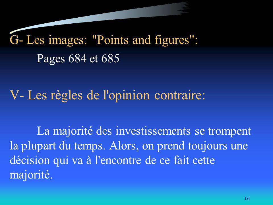 16 G- Les images: