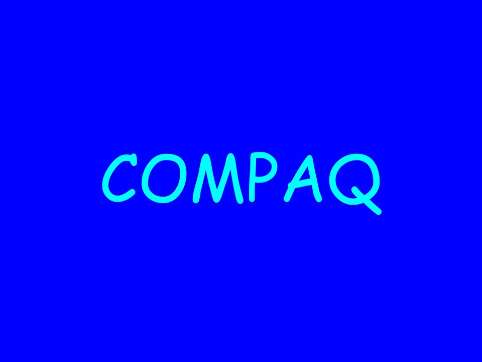Qui était Compaq .