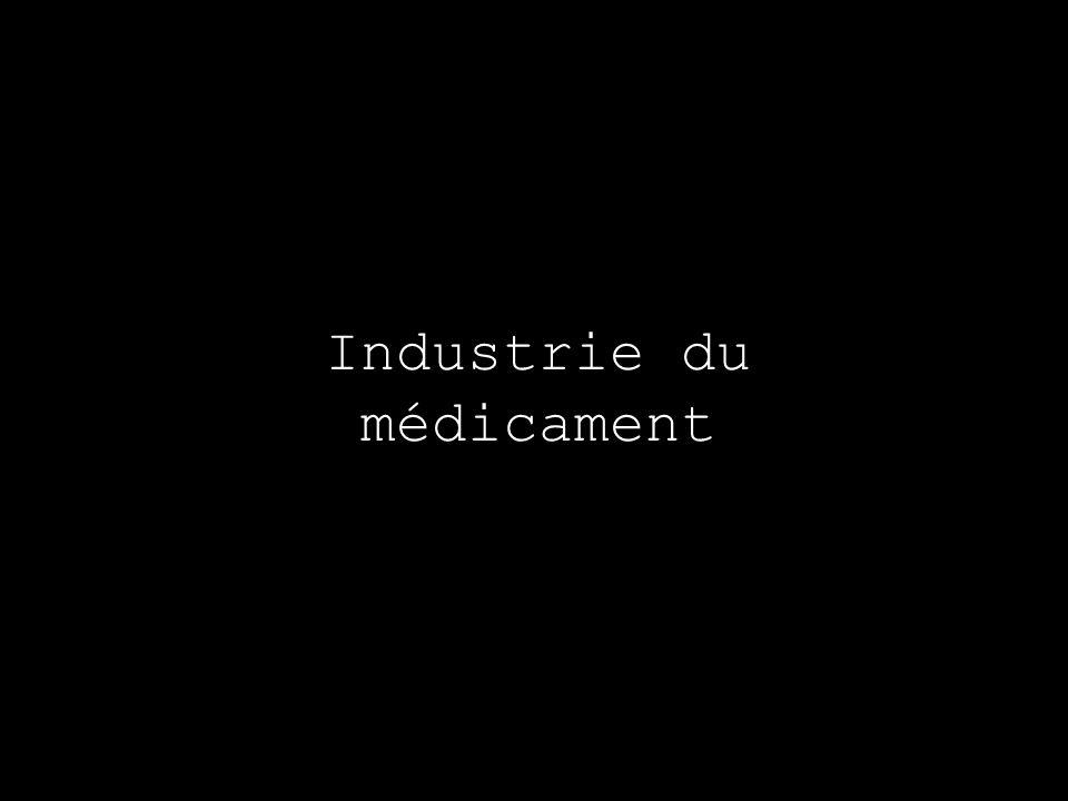 Industrie du médicament