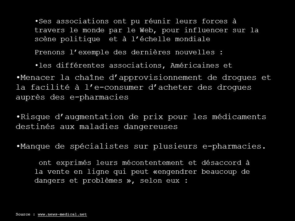 Marketing Décembre 2003 : National Association of Boards of Pharmacy