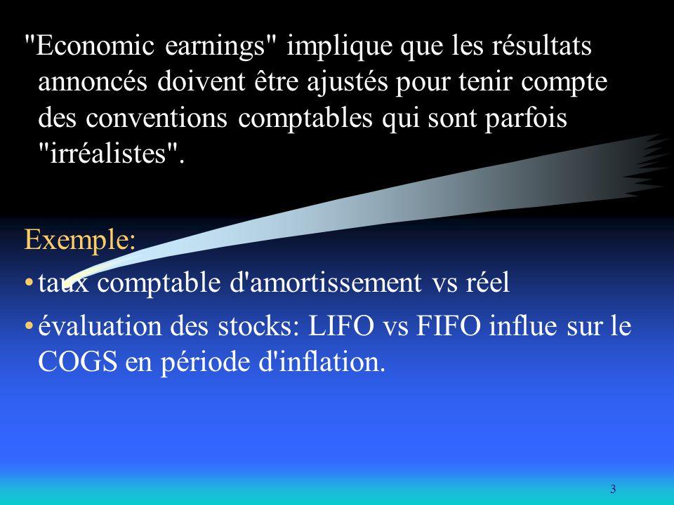 4 Il existe deux approches pour choisir des titres: value investing : Bell.