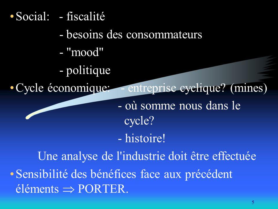 16 2- Sources des données macro-économique: Canada: - Revue de la banque du Canada - L observateur économique canadien.